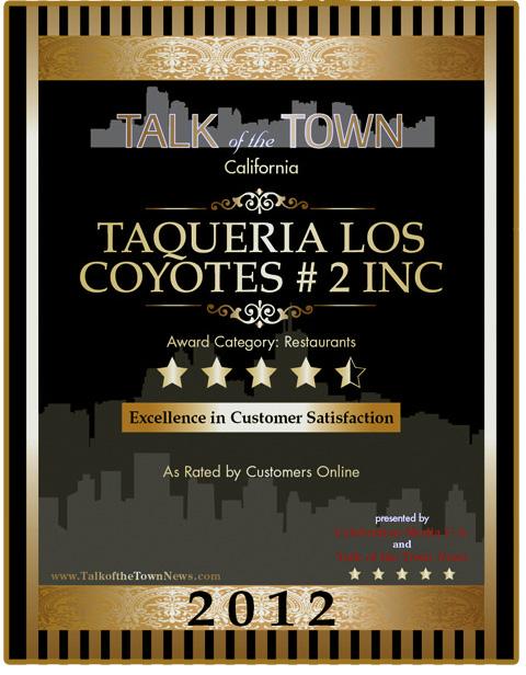 The best burritos in San Francisco - Taqueria Los Coyotes